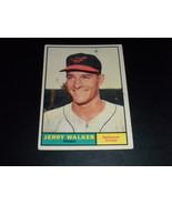 Jerry Walker Baltimore Orioles 1961 orig TOPPS baseball card # 85 Good - $3.99