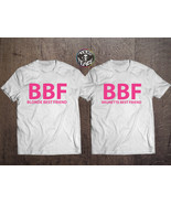 BBF shirts, Blonde Best Friend, Brunette Best Friend, BFF tees, Best Bit... - $20.62 CAD