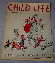 Vintage Child Life Magazine February 1951 - $6.00