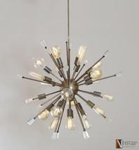 Italian Starburst Sputnik Chandelier - 24 Lights Sputnik block Acrylic C... - £548.71 GBP