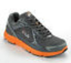 FILA MENS Sz 10 SPORT SOAR SNEAKERS ATHLETIC RUNNING SHOES ORANGE GRAY N... - $28.88
