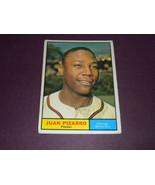 Juan Pizarro Chicago White Sox 1961 orig TOPPS baseball card # 227 EXMT+ - $3.99