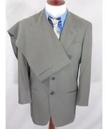 GIORGIO ARMANI 2 Piece OLIVE Suit Set;Jacket:39R/39R -- Pants:32x 29 ITALY - $156.30