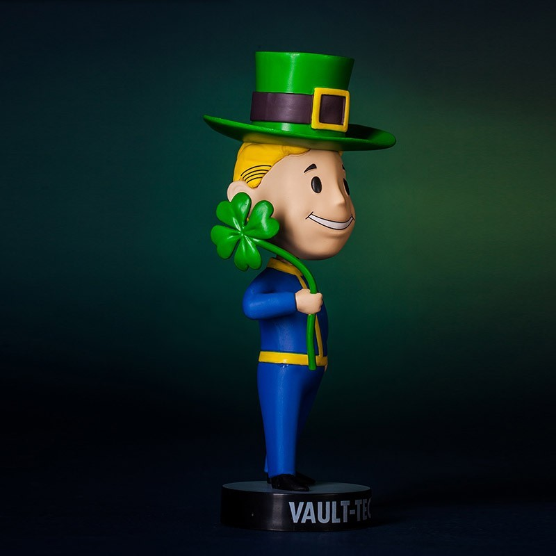 "Fallout 3 Vault Boy Luck 101 Bobblehead - 5"" TALL Pip Boy SERIES 3 Figure Toy"