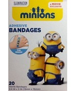 MINIONS Movie Exclusive Adhesive Sterile BANDAGES  20-pack Despicable Me - $4.88