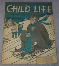 Vintage Child Life Magazine January 1952 - $5.00