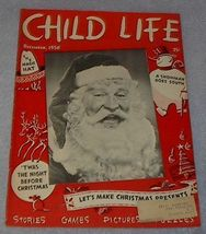 Vintage Child Life Magazine Christmas December 1950 - $7.95