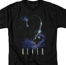 Alien t-shirt retro 70's 80's Sci-Fi horror film 100% cotton graphic tee TCF282 image 3