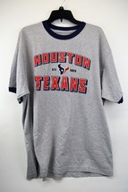 REEBOK NWT HOUSTON TEXANS Men's Short Sleeve Gray T-Shirt XL   (C1) - €11,90 EUR