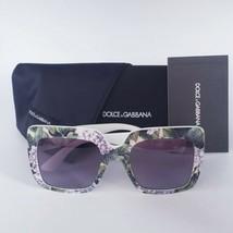DOLCE & GABBANA DG4310 Hydrangea Print On White Sunglasses NEW AUTHENTIC  - $125.96