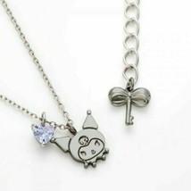 New Sanrio Kuromi Necklace Silver Japan - $161.26