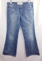 Joes vintage series 1971 women jeans  distressed embroidered pocket flar... - $18.86