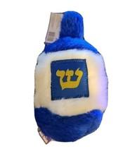 """MULTIPET 6"""" Hanukkah Dreidel Squeaky Dog Puppy Toy  Blue White - £6.08 GBP"""