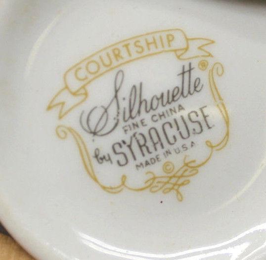 Vintage Mint Syracuse China Courtship and 12 similar items