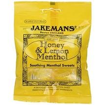 Jakemans Honey & Lemon Bags 100g (Pack of 10)  - $28.00