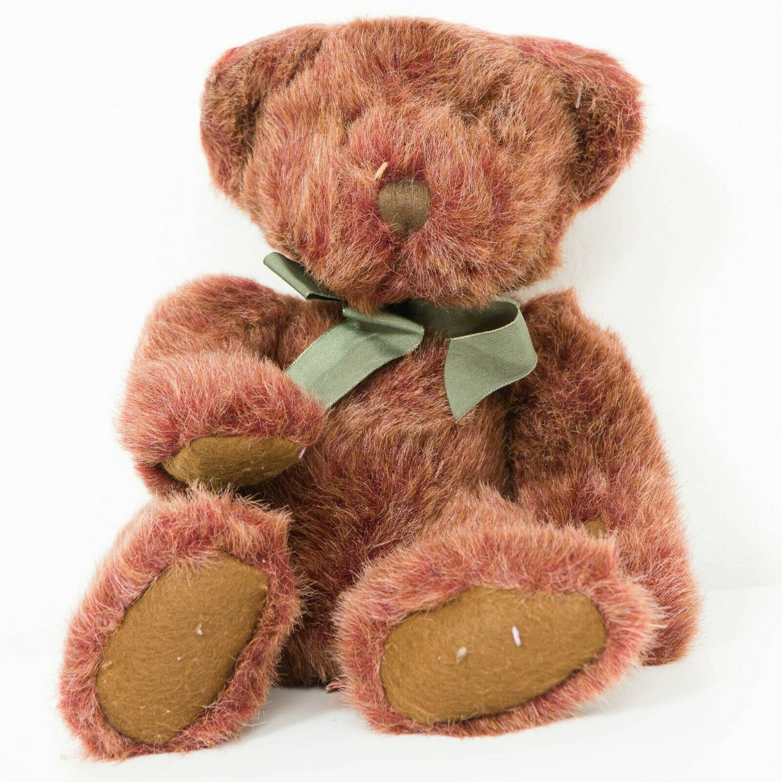"Primary image for Russ Berrie Tinker Teddy Bear Plush 12"" Bears of Past Red Gold Stuffed Animal"