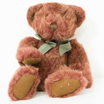 "Russ Berrie Tinker Teddy Bear Plush 12"" Bears of Past Red Gold Stuffed A... - $17.58"