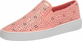 MICHAEL Michael Kors Kane Perforated Slip-On Sneakers Size 7.5 - $79.19
