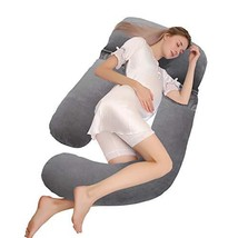 joybest Pregnancy Pillow 60 inch Full Body Pillow and Maternity Support ... - $45.21