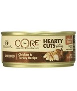 Wellness CORE Natural Grain Free Hearty Cuts Chicken and Turkey Canned C... - $20.89