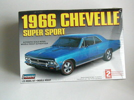 FACTORY SEALED 1966 Chevelle Super Sport by Lindberg #72181 - $49.49
