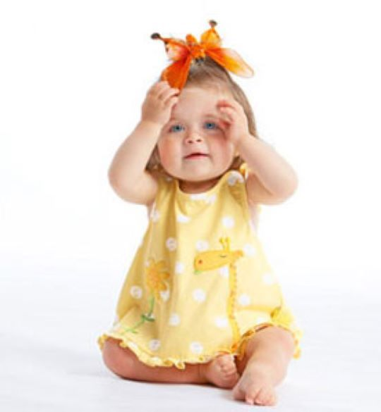 Primary image for Le Top Babys Giraffe Applique Sun Top and Bloomers