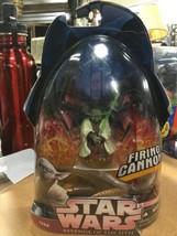 Hasbro Star Wars: Revenge of the Sith Yoda Firing Cannon Action Figure - $29.39