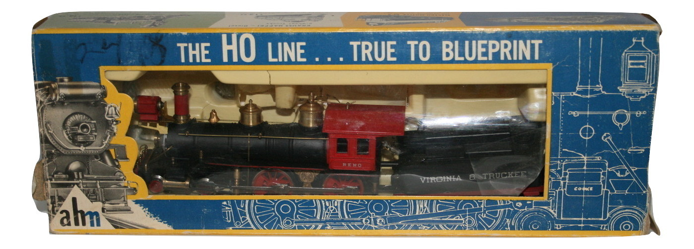 Vintage Reno 4-4-0 5070 Virginia and Truckee NIB Old Stock