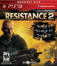 Resistance 2 .. greatest hits  sony playstation 3  2008  thumb200