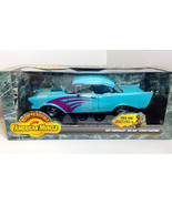 Ertl 1:18 1957 Chevy Bel Air Chevrolet Ready to Rumble Diecast blue - $39.50