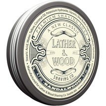 Lather & Wood Shaving Soap - Sandalwood - Simply the Best Luxury Shaving... - $22.41