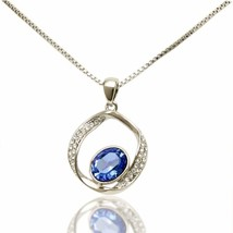 Coach House Jewelry Women's Platinum Gold Plated Necklace and Pendant wi... - $86.42