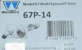 Woodford Model 67 Wall Hydrant P Inlet For Irrigation  Outdoor Watering image 8