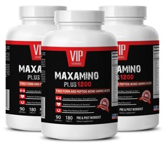 Pre workout supplements - MAXAMINO PLUS 1200 3B- Workout endurance - $65.69