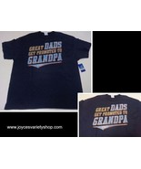 GREAT DADS GET PROMOTED TO GRANDPA NWT T-Shirt Various Sizes Gildan - $9.99