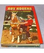 Whitman Book Roy Rogers Trail of Zeros Packer E... - $14.95