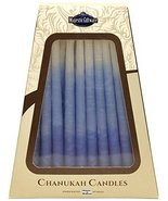 Majestic Giftware SC-CP14 Safed Handcrafted Hanukkah Candles, 6-Inch, Bl... - $6.11