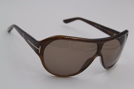 NEW TOM FORD TF 87 U47 LAURENT BROWN SUNGLASSES AUTHENTIC 67-4 W/CASE ! - $147.26