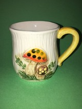 "4 Sears Roebuck 1978 Merry Mushroom Small 3.25"" Tall Teacup Coffee Tea M... - $19.80"