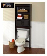 Over The Toilet Cabinet Bathroom Storage Wood S... - $64.23