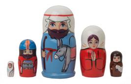 """Baby Jesus Nesting Doll - 4"""" w/ 5 Pieces - $21.00"""