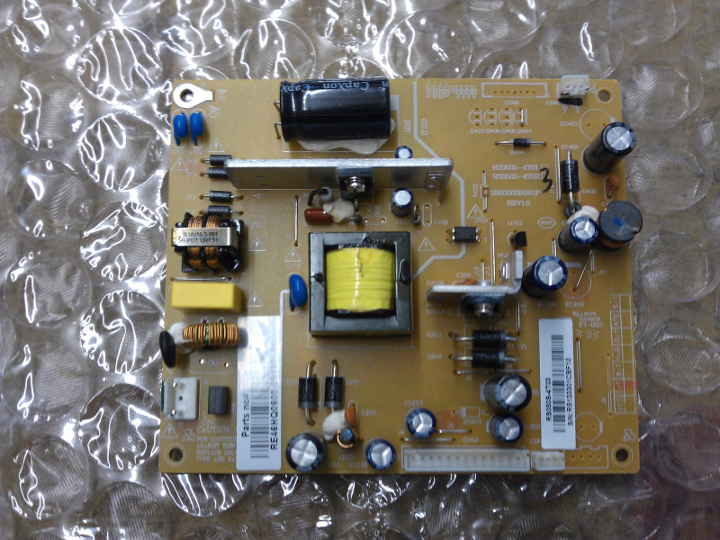 RE46HQ0600 Power Supply Board From RCA LED32C33RQ LCD TV
