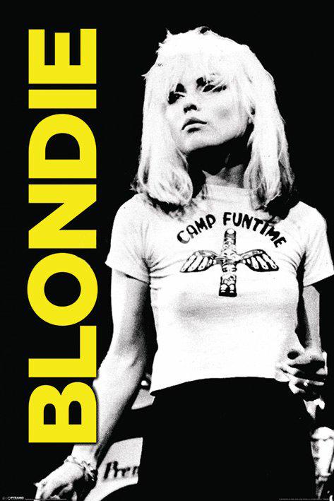 Blondie tight t shirt 24x36