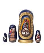 "Silent Night Nativity Doll - 6"" w/ 5 Pieces - $60.00"