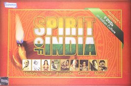 Spirit Of India | History, Yoga, Ayurveda, Dance, Music(9 DVDs on Indian... - $68.31