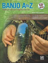 Banjo A-Z by Dick Weissman/Book/CD Set