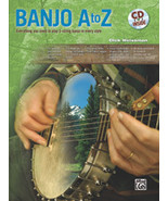 Banjo A-Z by Dick Weissman/Book/CD Set  - $20.00
