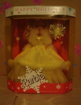 1989 Happy Holidays Holiday Barbie NRFB by Mattel - $75.00