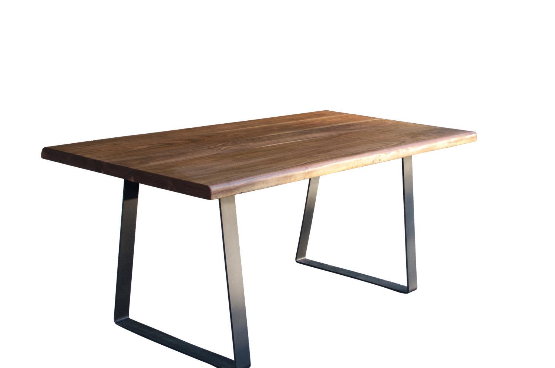 Live edge Walnut dining table with Trapezoid steel legs  : ilfullxfull1061558722leld from www.bonanza.com size 1500 x 994 jpeg 72kB