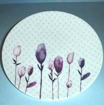 """Lenox Watercolor Amethyst Salad Luncheon Accent Plate 9.25"""" New - $16.90"""